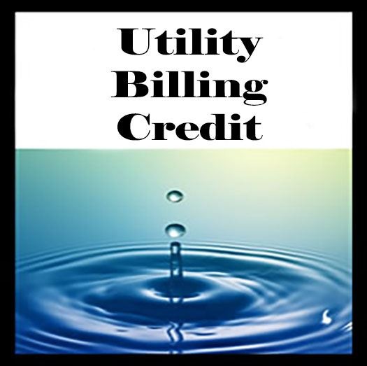 Home_Water_utility billing credit